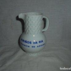 Antiquités: JARRA CASTRO GRABADA AIRIÑOS DA RIA.VILAGARCIA DE AROUSA.ITEM 1974.-VER FOTOS. Lote 175348054