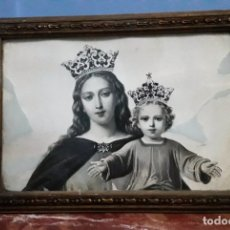 Antigüedades: CUADRO DE MARÍA AUXILIADORA.. Lote 175355538