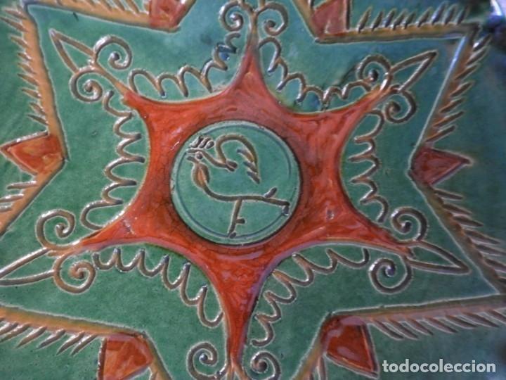 Antigüedades: PLATO DE CERAMICA DE HERMANOS ALMARZA DE UBEDA - Foto 2 - 175357164
