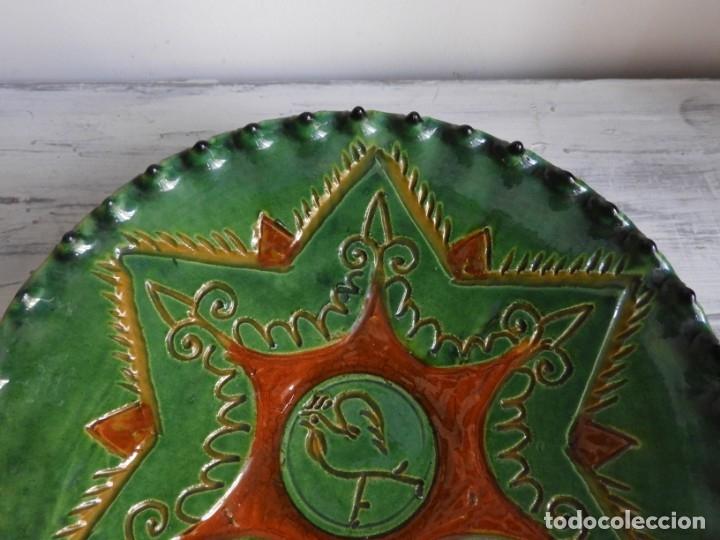 Antigüedades: PLATO DE CERAMICA DE HERMANOS ALMARZA DE UBEDA - Foto 3 - 175357164