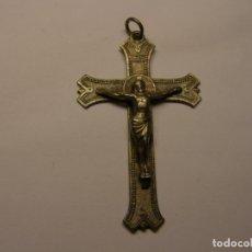 Antigüedades: CRUCIFIJO RELIGIOSO ANTIGUO, PRINCIPIOS DEL SIGLO XX.. Lote 175371929