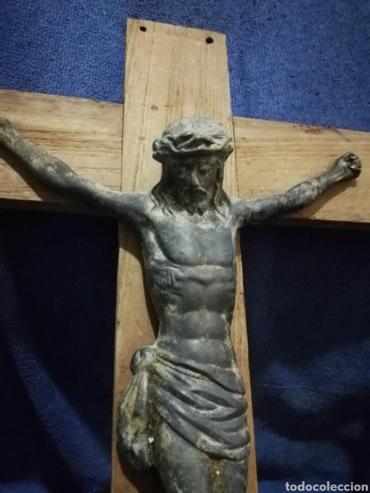 Antigüedades: Crucifijo cristo - Foto 3 - 175372428