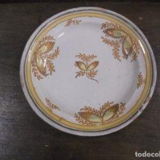 Antigüedades: MAGNIFICO PLATO DE ALCORA. Lote 175383062