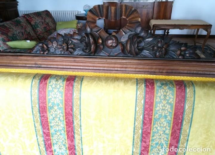 Antigüedades: Sofá tresillo y dos sillas - Foto 7 - 175391118