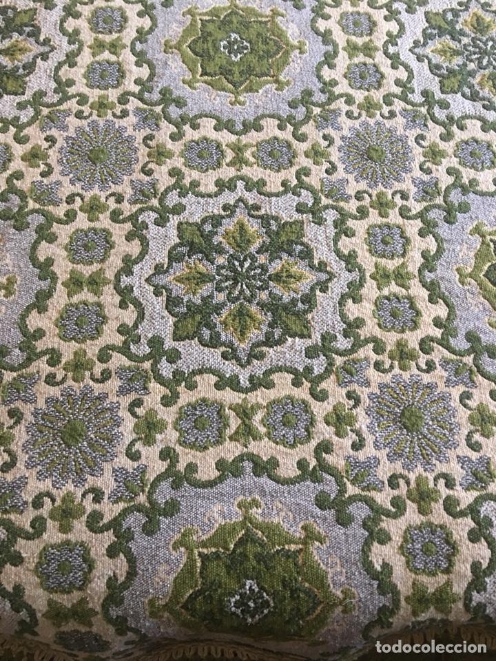 Antigüedades: Antigua manta colcha para cama de matrimonio-(19270) - Foto 4 - 175396510