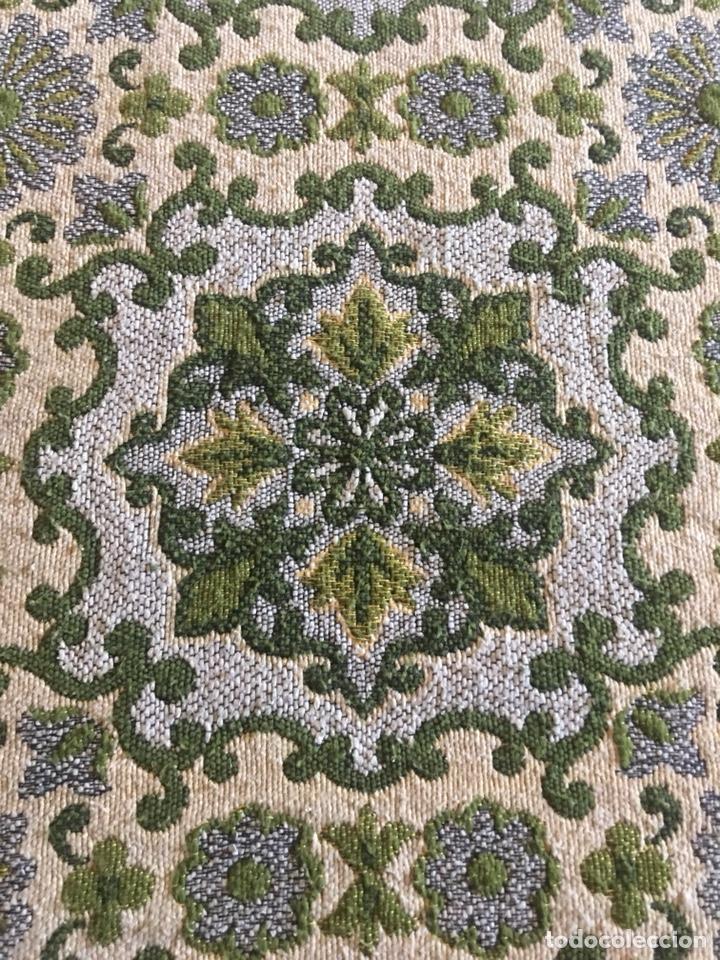 Antigüedades: Antigua manta colcha para cama de matrimonio-(19270) - Foto 5 - 175396510