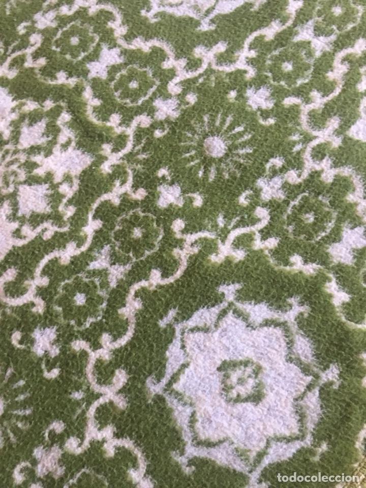 Antigüedades: Antigua manta colcha para cama de matrimonio-(19270) - Foto 8 - 175396510