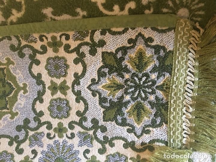 Antigüedades: Antigua manta colcha para cama de matrimonio-(19270) - Foto 9 - 175396510