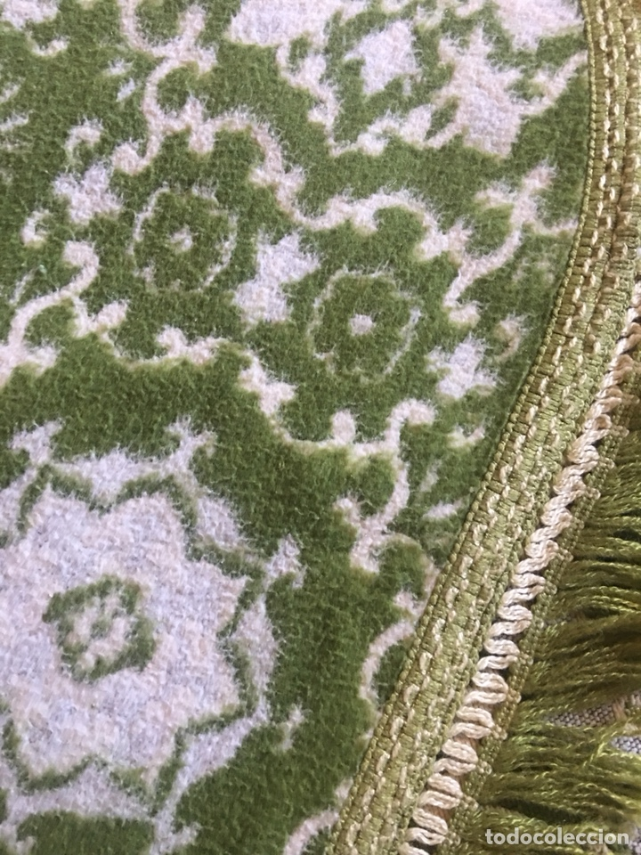 Antigüedades: Antigua manta colcha para cama de matrimonio-(19270) - Foto 11 - 175396510