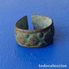 Antigüedades: 24. ANILLO DE BRONCE RONANO. MUY PEQUEÑO. Lote 175406922