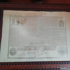 Antigüedades: CURIOSO DE DOCUMENTO ECLESIÁSTICO. Lote 175414608