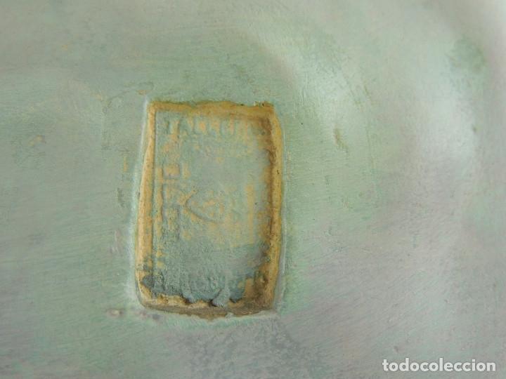 Antigüedades: ANTIGUA FIGURA OLOT INMACULADA CONCEPCION SELLADA ESCELENTE DECORACION RELIGIOS - Foto 27 - 175414788