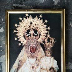 Antigüedades: VIRGEN DEL COLLADO, PATRONA SANTIESTEBAN DEL PUERTO, JAÉN. 33X44. Lote 175442983