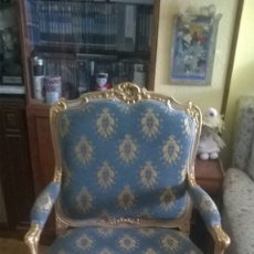 Antigüedades: ANTIGUO SILLON ESTILO LUIS XVI. Lote 175448460