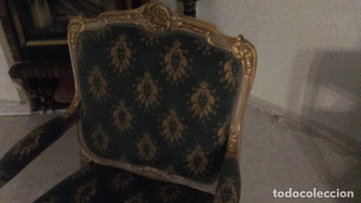 Antigüedades: Antiguo sillon estilo Luis XVI - Foto 4 - 175448460