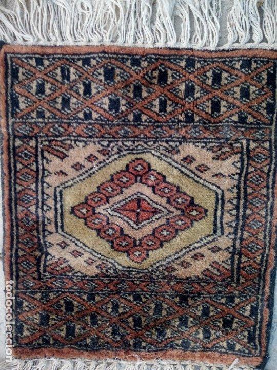 Antigüedades: Antiguo tapete alfombra tapiz persa,lana pura hecho a mano - Foto 2 - 175457243