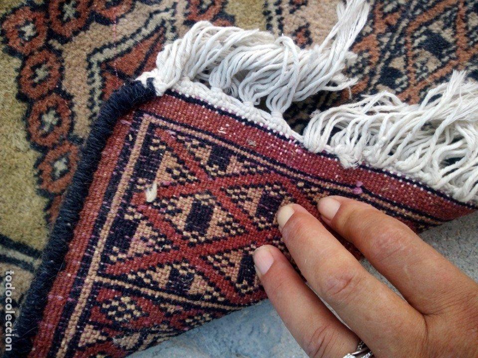 Antigüedades: Antiguo tapete alfombra tapiz persa,lana pura hecho a mano - Foto 3 - 175457243