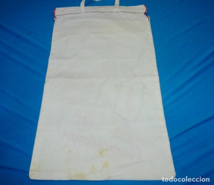 Antigüedades: Antigua bolsa de pan con bordados. - Foto 5 - 175468993