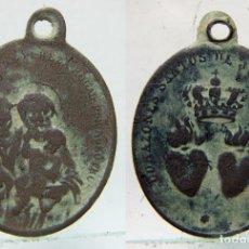 Antigüedades: MEDALLA RELIGIOSA SIGLO XIX . Lote 175487069