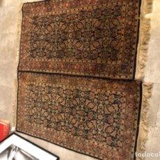 Antigüedades: PAREJA DE ALFOMBRAS PERSAS EXCELENTE CALIDAD. Lote 169109748