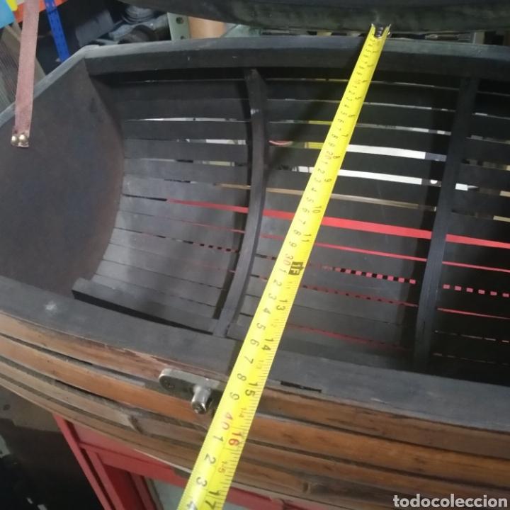 Antigüedades: Cofre - baul de caña - Foto 4 - 175491788