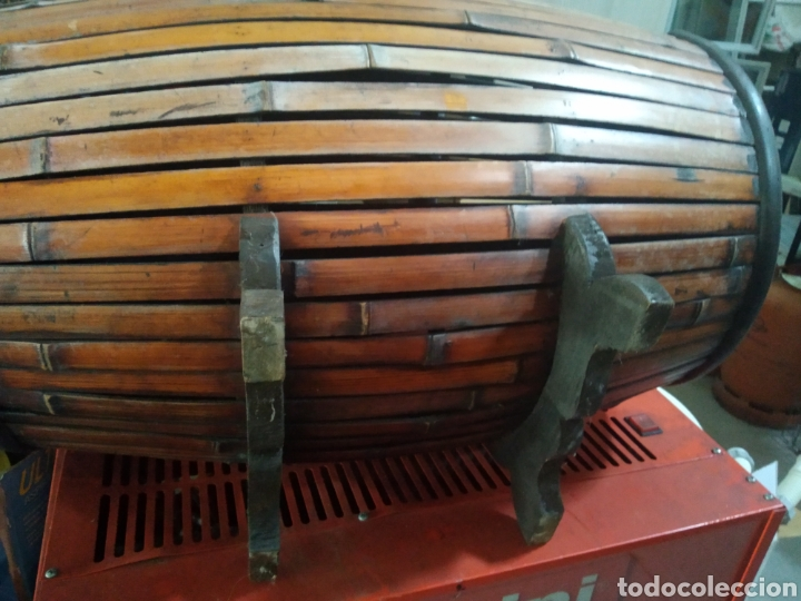 Antigüedades: Cofre - baul de caña - Foto 6 - 175491788