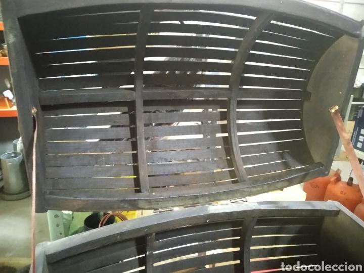 Antigüedades: Cofre - baul de caña - Foto 9 - 175491788
