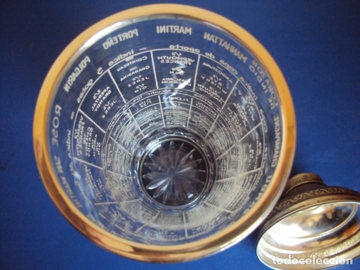 Antigüedades: (ANT-190908)COCTELERA DE CRISTAL SOPLADO. TAPA Y BASE DE PLATA. CIRCA 1950 - Foto 12 - 175500569