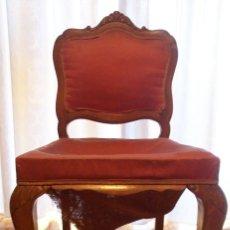 Antigüedades: BONITA SILLA MADERA . Lote 175500917