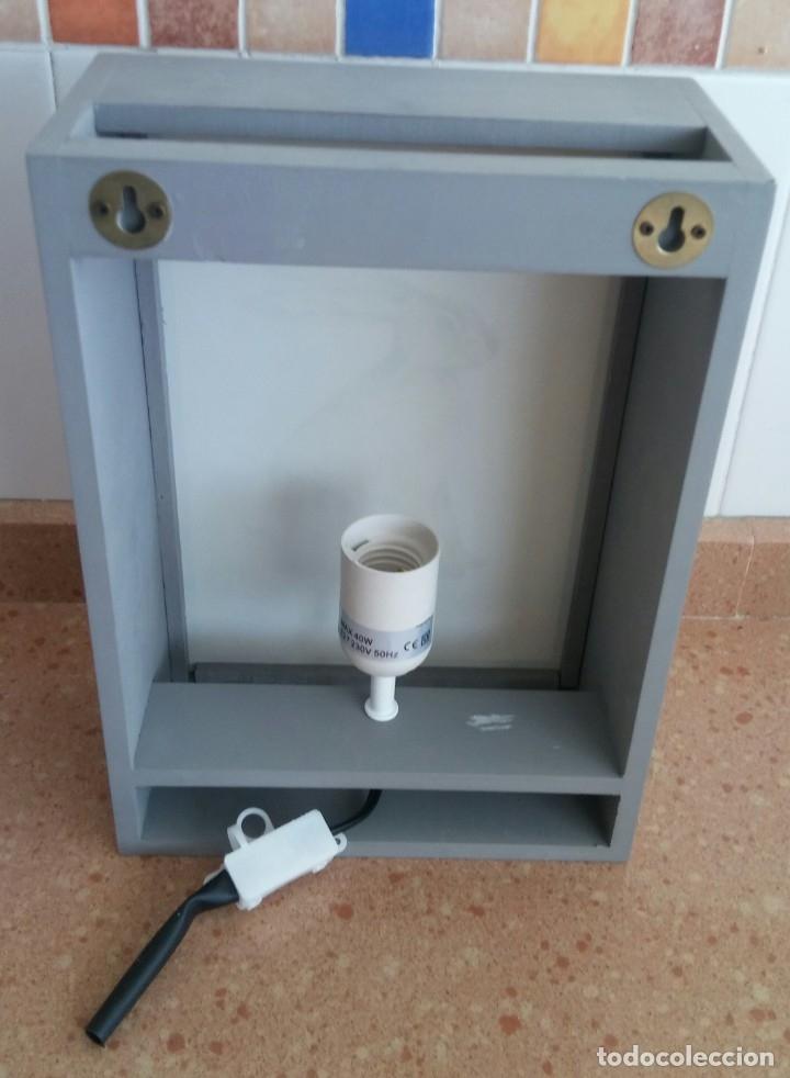 Antigüedades: APLIQUE ORIGINAL CON INSTALACION ELECTRICA - Foto 4 - 175506154