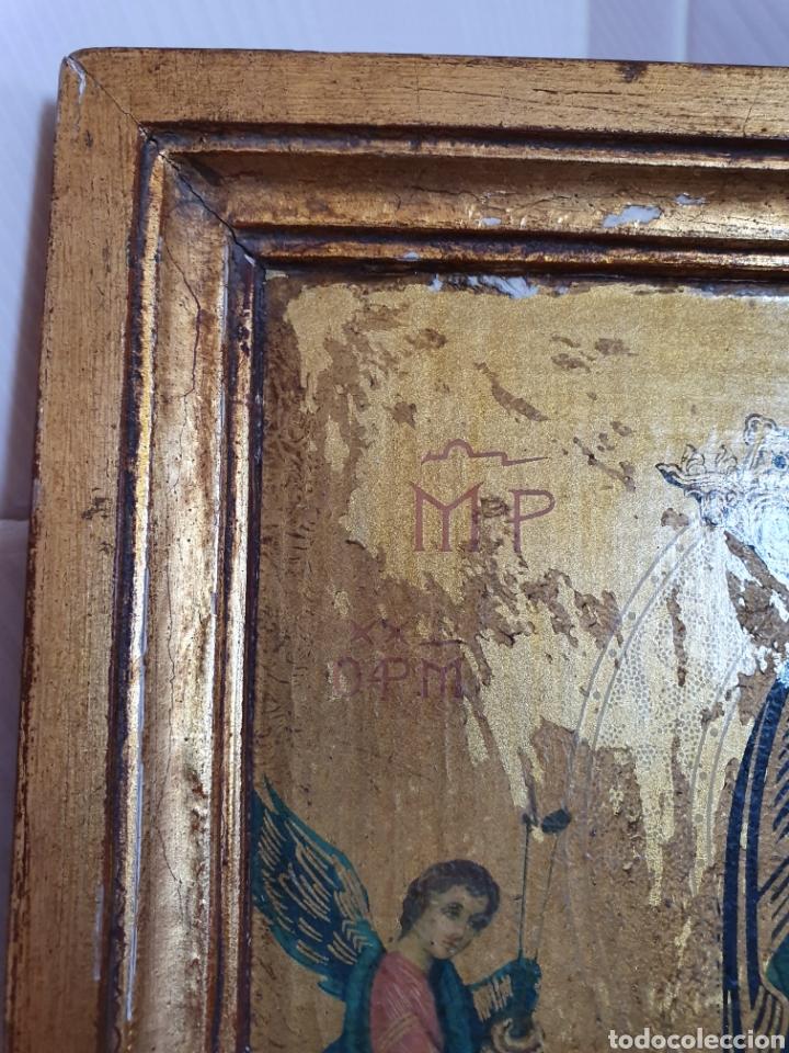 Antigüedades: CUADRO DE LA VIRGEN DEL PERPETUO SOCORRO - Foto 2 - 175510117