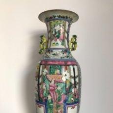 Antigüedades: JARRONES CHINOS SIGLO XIX. Lote 175514738