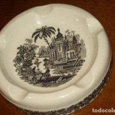 Antigüedades: ANTIGUO CENICERO GRANDE DE LA CARTUJA PICKMAN.. Lote 175531353