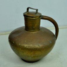 Antigüedades: VASIJA PARA AGUA EN LATÓN FRANCESA. Lote 175531725