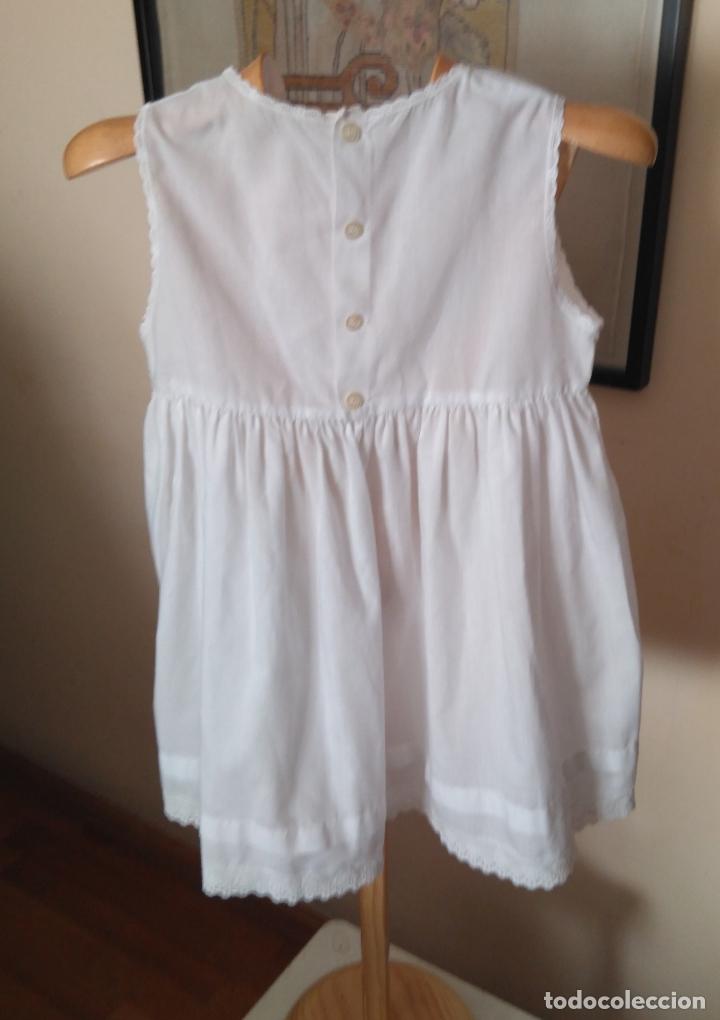 Antigüedades: Vestido enagua interior infantil´años 60-70 - Foto 2 - 175553205