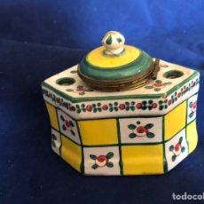 Antigüedades: ANTIGUO TINTERO FRANCÉS. Lote 175560508