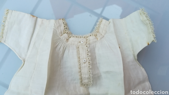 Antigüedades: Camisola o camisón de bebé - Foto 3 - 175562324