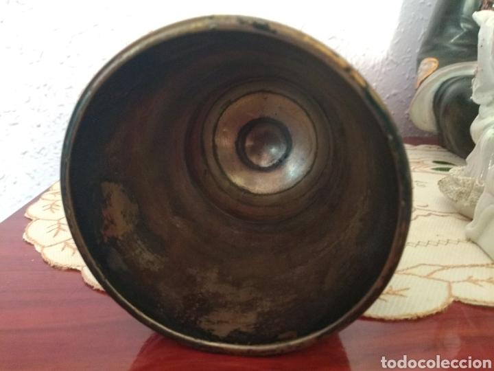 Antigüedades: MUY DIFÍCIL ( CÁLIZ PLATA S. XIX PUNZONADO EN LA BASE ).VER FOTOS. MÁS ARTÍCULOS PLATA EN MÍ PERFIL. - Foto 12 - 166643829