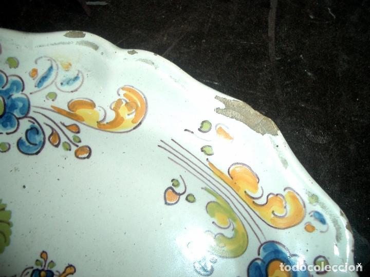 Antigüedades: bandeja, talavera ruiz de luna - Foto 4 - 175576925
