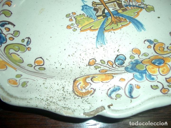 Antigüedades: bandeja, talavera ruiz de luna - Foto 5 - 175576925