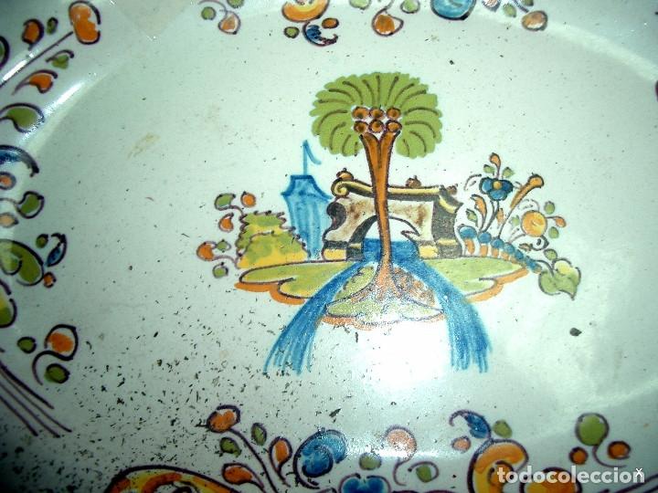 Antigüedades: bandeja, talavera ruiz de luna - Foto 6 - 175576925