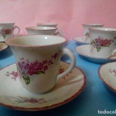 Antigüedades: TAZAS ANTIGUAS DE CAFE. Lote 175592249