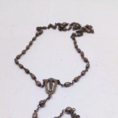 Antigüedades: ROSARIO DE PLATA. Lote 175614893