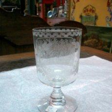 Antigüedades: COPA, CRISTAL DE LA GRANJA--RECUERDO DE LA GRANJA--. Lote 175664739