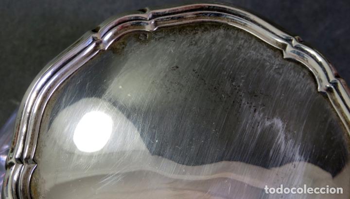 Antigüedades: Juego de tocador completo en plata Durán firmada siglo XX - Foto 6 - 175687722