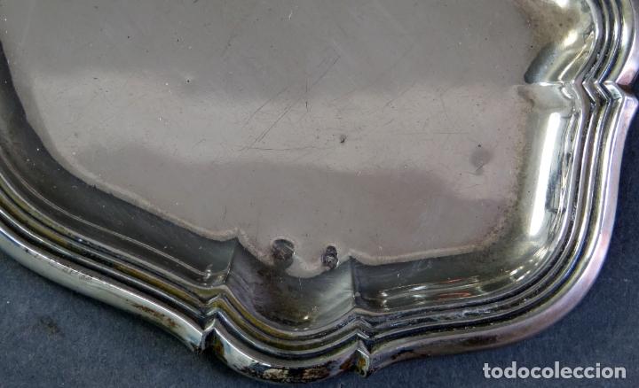 Antigüedades: Juego de tocador completo en plata Durán firmada siglo XX - Foto 10 - 175687722