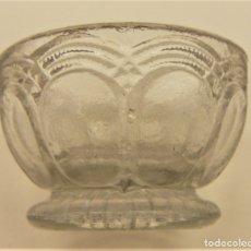 Antigüedades: CUENCO DE CRISTAL. Lote 175697115