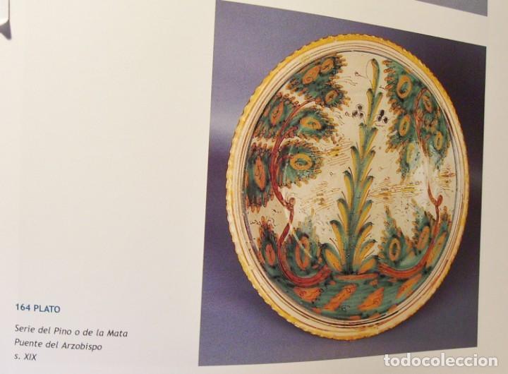 Antigüedades: ROTUNDO Y GRAN PLATO CERÁMICA DE PUENTE DEL ARZOBISPO XVIII – XIX - Foto 17 - 175713999