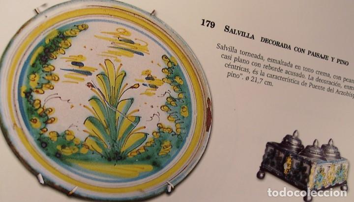 Antigüedades: ROTUNDO Y GRAN PLATO CERÁMICA DE PUENTE DEL ARZOBISPO XVIII – XIX - Foto 18 - 175713999