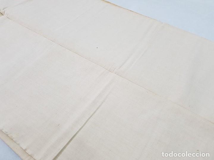 Antigüedades: ANTIGUO TEJIDO LINO FINO - Foto 4 - 175715218